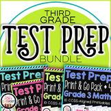 Test Prep - PARCC Math - SBAC Practice for 3rd Grade