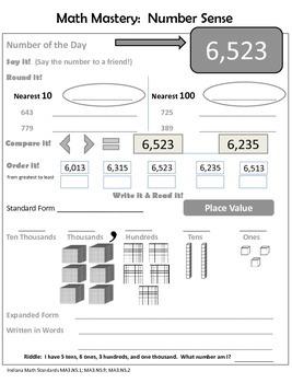 Math Review Packet Week 2