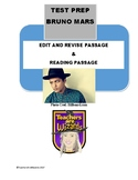 Bruno Mars: Reading and Edit/Revise Passages: STAAR PREP