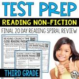 Test Prep: Reading Test Prep for 3rd Grade