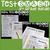 Test Prep 3rd Grade Math and Reading Bundle