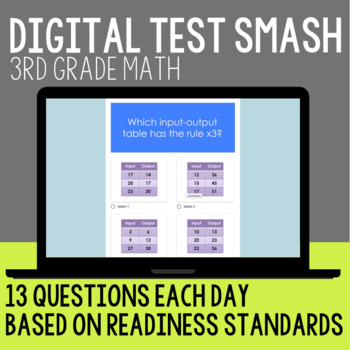 Test Prep Grade 3 Math Review