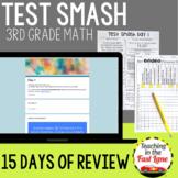 Distance Learning Math Test Prep 3rd Grade Bundle {Digital