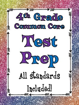 Test Prep:  4th Grade Math   All Standards Included