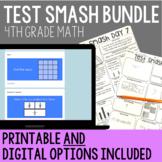 Distance Learning Math Test Prep 4th Grade Bundle {Digital and Printable}