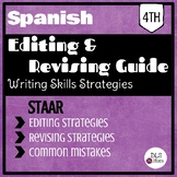4th Spanish Writing Editing and Revising part - STAAR Test