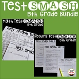 Test Prep 5th Grade Math and Reading Bundle