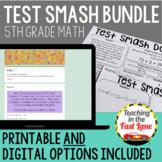 Distance Learning Math Test Prep 5th Grade Bundle {Digital