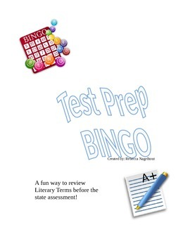 Test Prep BINGO Review Game