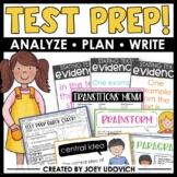 Test Prep BUNDLE: ELA Tips, Tricks, Printables, Presentations, and MORE!