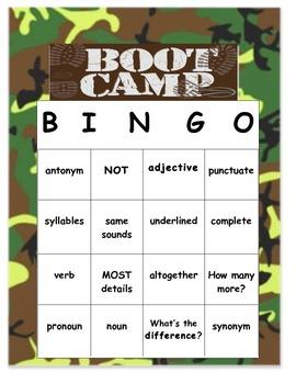 Test Prep Boot Camp