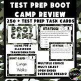5th Grade Math Test Prep Bundle Task Cards and Google Forms