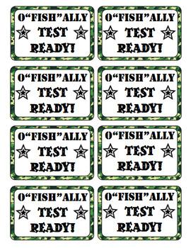 Test Prep: Boot Camp Theme Motivational Testing Notes FREEBIE