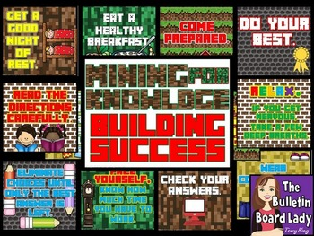 Test Prep Bulletin Board Mining for Knowledge Building Success