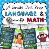 Test Prep Bundle: 3rd Grade Math and Language