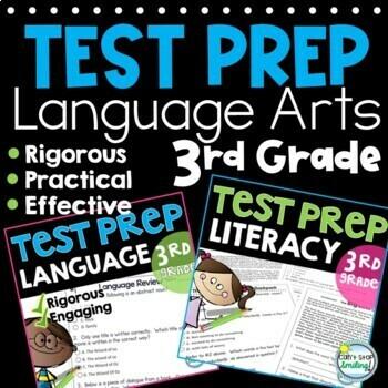 SBAC Test Prep Grade 3  ~ Language Arts ~ ELA Practice