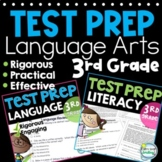 SBAC Test Prep 3rd Grade Reading, Writing & Language BUNDL