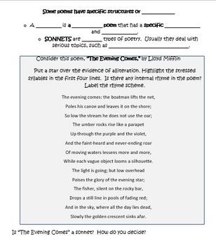ELA Test Prep Poetry