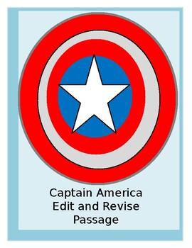 Test Prep: Captain America Edit/Revise