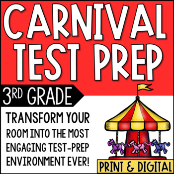 Test Prep Carnival Room Transformation
