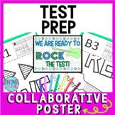 Test Prep Collaborative Poster!  Team Work Activity - Test Motivation