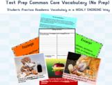 Test Prep Common Core Academic Vocabulary ***No Prep***