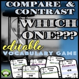 Compare and Contrast Vocabulary FOR ANY WORD LIST