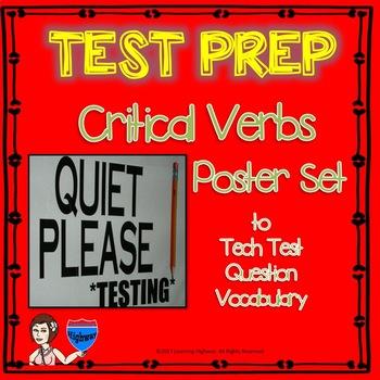 Test Prep - Critical Verbs