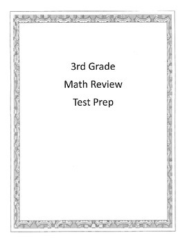 Test Prep Daily Work Math 3rd Grade