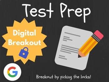 Test Prep - Digital Breakout! (Escape Room, Scavenger Hunt)