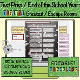 Test Prep: Digital Escape/Breakout Rooms English Language Arts