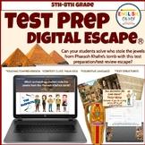 Test Prep Digital Escape Room Ⓡ, Test Review, Google Apps