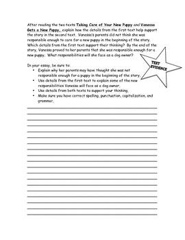Test Prep ELA Paired Passages Practice: Part 2