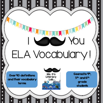 ELA Vocabulary--Test Prep