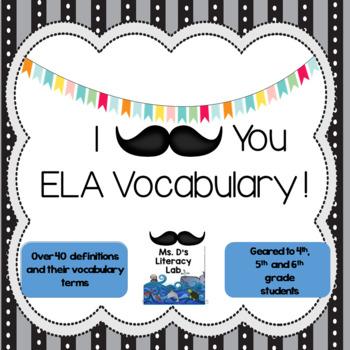 ELA Vocabulary--Test Prep