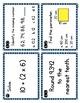 Test Prep ELA and Test Prep Math Ideas with FREE Task Cards