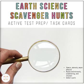 Test Prep: Earth Science Scavenger Hunt