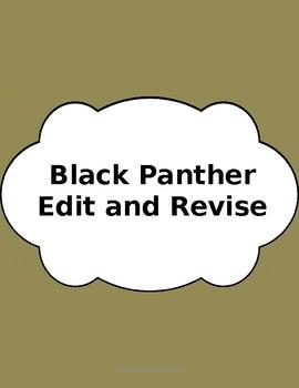 Test Prep: Edit/Revise Black Panther