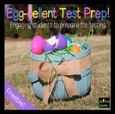 FREE Test Prep Egg-cellent Egg Hunt