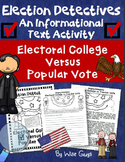 Test Prep Electoral College vs Popular Vote Printables