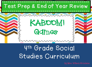 Test Prep & End of Year 4th Grade Social Studies Review