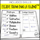 Test Prep Escape Room for 4th Grade Bundle: Reading & Math Escape Challenges