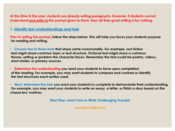 Test Prep For Expository Writing Grades 3-5