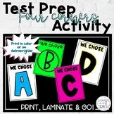 Test Prep Four Corners Activity
