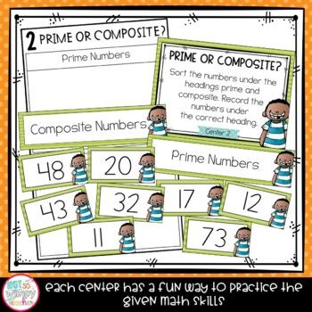 Test Prep Fourth Grade Math Centers