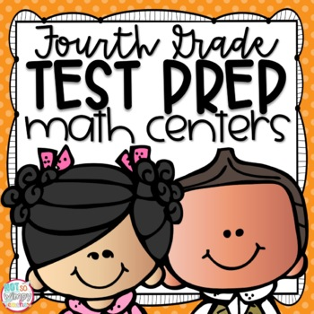 Test Prep Fourth Grade Math Centers