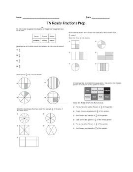 Test Prep Fraction Worksheet