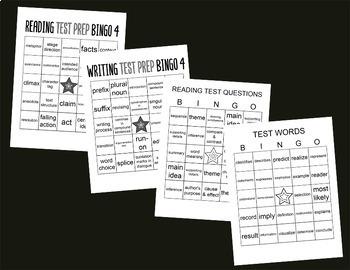 Test Prep 4th Grade Bundle