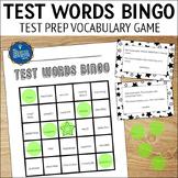 Test Vocabulary Bingo