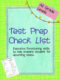 Test Prep Guide - Executive Function and Study Skills